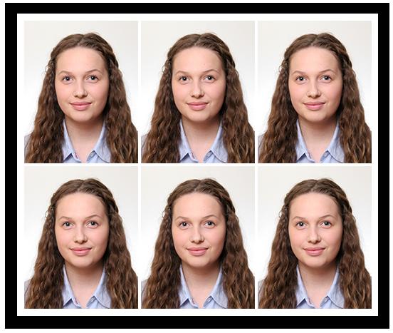 6 passbilder